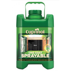 Cuprinol One Coat Sprayable Fence Treatment, 5 L -Black