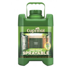 Cuprinol One Coat Sprayable Fence Treatment, 5 L -Forest Green