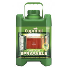 Cuprinol One Coat Sprayable Fence Treatment, 5 L - Rich Cedar