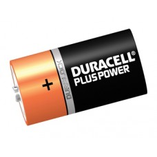 Duracell Battery, D-cell size - pack of 6