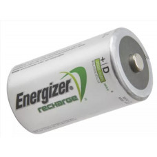 Energizer Rechargable Power Plus D Batteries, pk 2