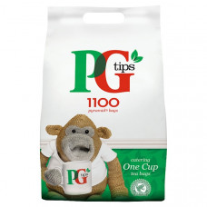 PG Tips One Cup Tea Bags, pack of 1100