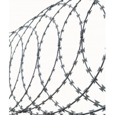 Coiled Concertina Razor Wire, 10m
