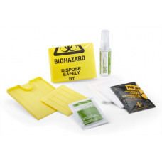 Single use Body Fluid Spill (Bio-Hazard) Kit,