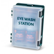 Eyewash Boxed Station c/w 2 x 500ml