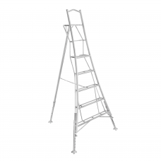 Henchman Householder Tripod Platform Step Ladder - 3 adjustable legs