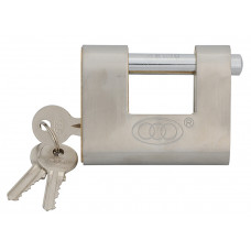 Faithfull Brass Shutter Padlock - Medium Security