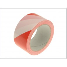 Self-Adhesive Hazard Tape - red + white