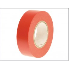 Faithfull PVC Insulating/Electrical Tape - red