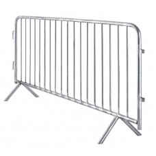 Galvanised Steel Crowd Control Barrier