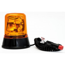 Magnetic Mount Rotating Beacon with 3M Cable and 12V Plug