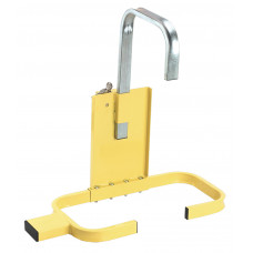 Sealey Wheel Clamp with Lock & Key