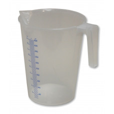 Transparent Polypropylene Measuring Jug, 5000ml