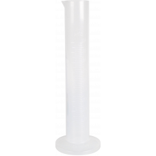 Plastic Measuring Cylinder, 100ml