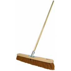 Platform Broom - soft Coco filled, 24 - with handle