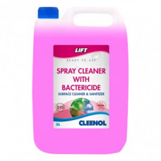 Lift Unperfumed Hard Surface Cleaner with Bactericide, 5 Litre