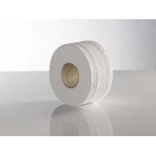 Mini Jumbo Toilet Rolls Recycled, pack of 12