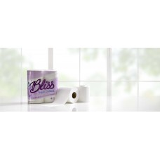 Bliss Triple Quilted Luxury Toilet Tissue Roll - pack 40