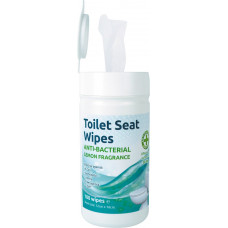 Toilet Seat Wipes, Tub of 100
