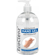 Hand Sanitising Gel, 500ml pump bottle