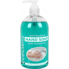 Liquid Hand Soap, 500ml pump bottle.