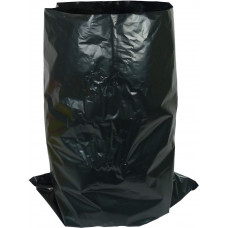 Large Black Plastic Compactor Bag - extra heavy duty - box of 100 bags