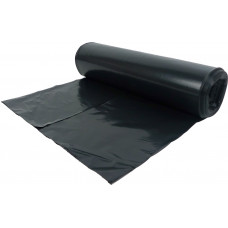 Dustbin Liner Bag - black E-Sac, on a roll, heavy duty