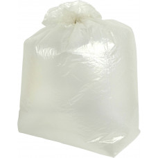 Clear Dustbin Liner Bag -  medium duty