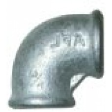 Galvanised maleable iron Female Threaded Elbow ¾