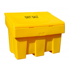 Salt and Grit Bin, Yellow, Large (340 Ltr)