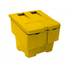 Mini Salt and Grit Bin, Yellow, 50 Ltr