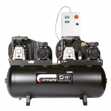 SIP B3800/270 Tandem Air Compressor, 2 x 3hp