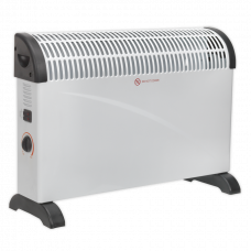 Sealey CD2005 Convector Heater, 230V 3 Heat Settings Thermostat