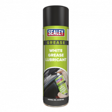 Sealey White Grease Lubricant with PTFE, 500ml