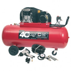 SIP TN3/200-SRB Belt Driven Compressor with Fittings Kit