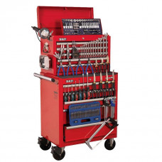 Sealey Topchest & Rollcab Combination 10 Drawer with 147pc tool Kit