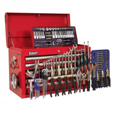 Sealey Topchest 5 Drawer with Ball Bearing Slides plus 138 pc Tool Kit