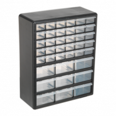 Sealey 39 Drawer Cabinet, Plastic