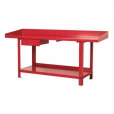 Sealey 2m Steel Work Bench with 1 drawer