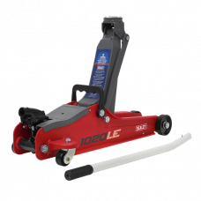 Sealey Low Entry Short Chassis Trolley Jack, 2 tonne
