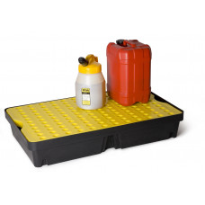 Polyethylene Spill Tray with 60 Ltr Sump & Grate