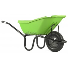 Haemmerlin 'Pick-Up' Plastic Barrow, pneumatic wheel