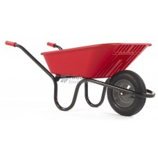 Haemmerlin 'Vibrante' Plastic Barrow, pneumatic wheel