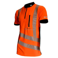 Treehog Hi-Vis Short Sleeved T-Shirt, Orange
