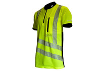 Treehog Hi-Vis Short Sleeved T-Shirt, Yellow