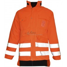 Treehog Hi-Vis Chainsaw Jacket c/w Chainsaw Protection