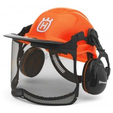 Husqvarna 'Functional Forest' Helmet Set - with chipper Muffs