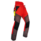 Pfanner Gladiator Extreme Chainsaw Trousers - Red