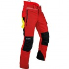 Pfanner Ventilation Type C Chainsaw Trousers - Red