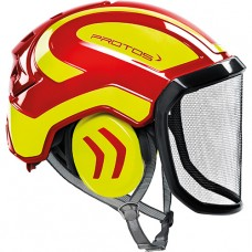 Protos Integral Arborist EN12492  Red/Yellow
